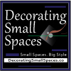 Decorating Small Spaces Branding. Small Logo. Design Development A. Image size: 100x100 px