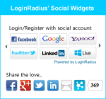 Social Login and Social Sharing
