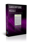 Subscriptions Module - Subscription, Recurring, Paypal Service