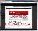 LightBox thumbnail gallery