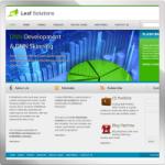 Leaf Solutions web 2.0 DNN Skin version 01.01.06