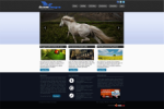 Buxom Designs WebStun Skin -  W3C XHTML/CSS validated,Tableless,Only DIVs,Mobile compatible