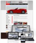 Award Red // 960Grid // Mobile and Desktop Responsive // Typography // Portal Templates // Social