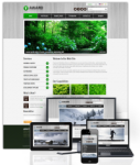 Award Green // 960Grid // Mobile and Desktop Responsive // Typography // Portal Templates // Social