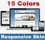 Fresh Skin ( 15 Colors ) // Responsive Design // Mobile & Tablet // Slider Banner // DNN 5 & 6 & 7