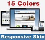 Fresh Skin ( 15 Colors ) // Responsive Design // Mobile & Tablet // Slider Banner // DNN 5 & 6 & 7