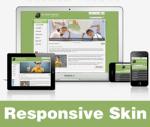 Inspire-OliveDrab Skin // Responsive Design // Vertical Menu // Slider Banner // Mobile // DNN 5&6&7