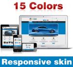 Exceed Skin ( 15 Colors ) // Responsive Design // Mobile & Tablet // Slider Banner // DNN 5 & 6 & 7