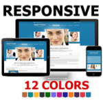 PT Responsive DNN Skin Pack 03 / 12 Colors / 2 Slide Banners / Easy Gallery / Mobile Business