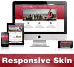 Dream-DarkRed Skin // Responsive Design // Mobile & Tablet // Slider Banner // For DNN 5 & 6 & 7