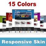Motive Skin (15 Colors) // Responsive Design // Mobile HTML5 // Bootstrap Typography // DNN 5/6/7