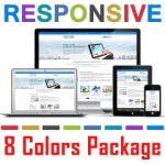 PT130724 Responsive Skin Pack / Slider / Isotope / Bootstrap / Tablet Mobile Business / 7/6/5