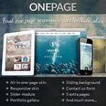 OnePage Responsive DNN Skin // All-in-One-Page // Portfolio Module