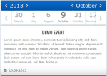 Responsive Timeline Events