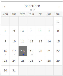 CoolDNN - Simple Event Calendar - Responsive