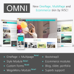 OMNI - New Ultra-Powerful DNN Skin // Ecommerce // Forms // Porfolio // Blog //  MegaMenu