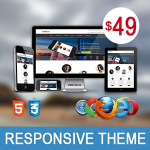 Artificial AquaBlue / Ultra Responsive Theme / Bootstrap 3 / Parallax / Retina