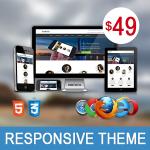 Artificial AquaBlue / Ultra Responsive Theme / Bootstrap 3 / Parallax / Retina