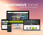 Responsive DNN Theme BD001 Olive Green / Real Estate / Business / Mega Menu / Left Menu / Bootstrap3