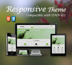 Simple Theme Green / Ultra Responsive / Bootstrap 3 / Parallax / DNN 6.x, 7.x & 8.x