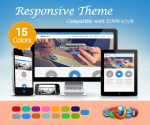 Responsive Theme / 15 Colors / Enterprise License / Business / HTML5 / CSS3 / Bootstrap v3.3.5