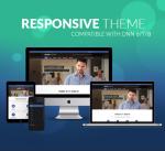 Responsive Theme BD002 Slateblue / Navy / Business / Mobile / Mega Menu / SideMenu / Parallax