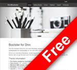 DnnC Bootster responsive skin / theme (v01.00.02)