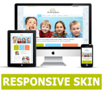 Education Responsive DNN Theme / Slider / Bootstrap / School / Children / Training Courses / Busines