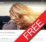 DnnC MDesign responsive skin / theme (v01.00.01)