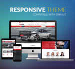 Responsive Theme CarDealer / Car / Automotive / Mega Menu / Left Menu / Parallax / Mobile / DNN6/7/8