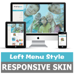 LeftMenu_Education Responsive DNN Theme / Suitable for School / Children / Health / Medicial