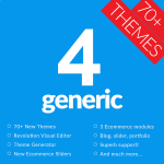 GENERIC 4 - Taking DNN Theme to new Height / 70+ Themes / Revolution Visual Editor / Theme Generator