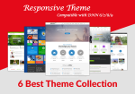 (70% SALE) 6 Top DNN Theme Collection