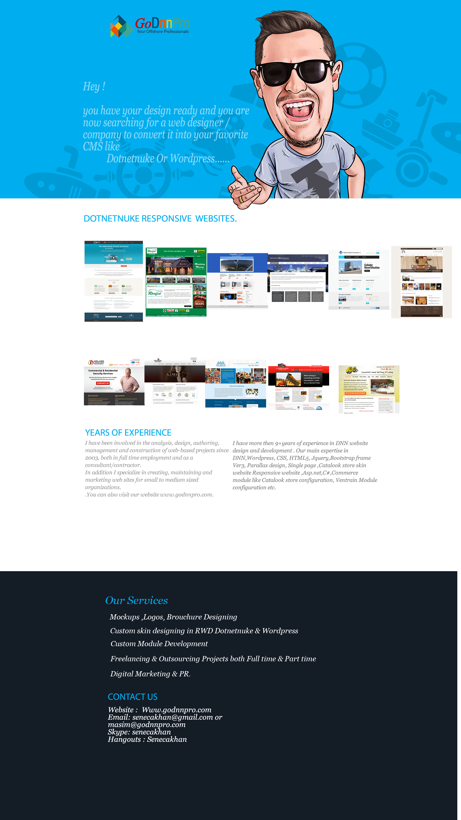 DNN Store > Home > Product Details > PSD to Responsive Bootstrap ...