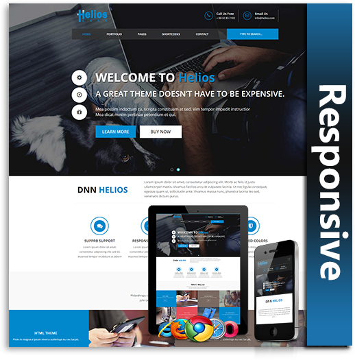 DNN Store > Home > Product Details > Helios Responsive Theme