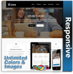 Luna Responsive Theme (1.05) / Unlimited Colors/ 700+ Google Fonts / Mega Menu / DNN 7, 8 & 9