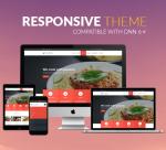 BD007 Red Theme / Restaurant / Food / Business/ Cuisine / MegaMenu / Bootstrap3 / Parallax / Slider