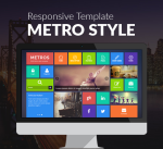 Metro Theme / Responsive / Flat / Business / Clean / MegaMenu / Parallax / Mobile / Slider