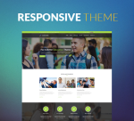 BS001 Yellow Green Theme Education / University / Business / Slider / Mega / Parallax / DNN6/7/8/9