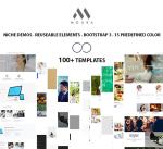 Moura 15 Colors Theme / Responsive / Mobile / Mega / Dnn 6/7/8/9 / Bootstrap 3