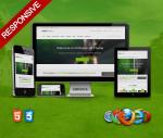 Green / Ultra Responsive / Professional Theme / HTML5 / CSS3 / Bootstrap 3 / DNN 6, 7,8 & DNN 9.x