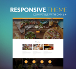 Restaurant Theme BS001 Yellow / Food / Business/ Cuisine / Mega / Cafe / Slider / DNN6/7/8/9