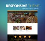 Restaurant Theme BS001 Yellow / Food / Business/ Cuisine / Mega / Cafe / Slider / DNN6/7/8/9