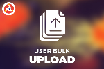 User Bulk Upload