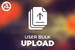 User Bulk Upload