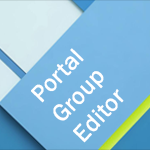 Portal Group Editor / Multi Portal User Sharing