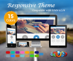 Responsive(1.04) / 15 Colors / Mega Menu / HTML5 / Parallax / Corporate / DNN 6.x, 7.x, 8.x & 9.x
