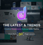 DNG Unlimited Responsive Multi-Purpose DNN Theme (V2.2.0) / Retina / 19 HomeLayouts / Bootstrap