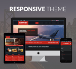 Transport 12 Colors Responsive Theme / Business / Logistics / Clean / Slider / Parallax / DNN7/8/9