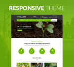 Sallira 12 Colors Green Garden Theme / Responsive / Business / Clean / Flowers / Parallax / DNN7/8/9